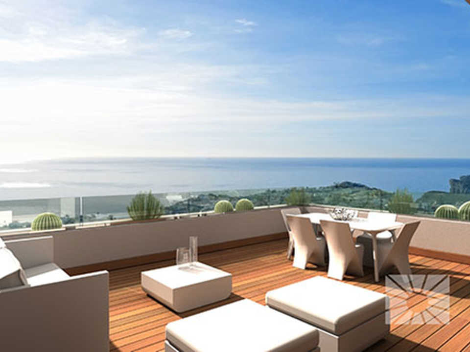 Blue Infinity Cumbre del Sol Benitachell Luxury apartment for sale ref: RFA20