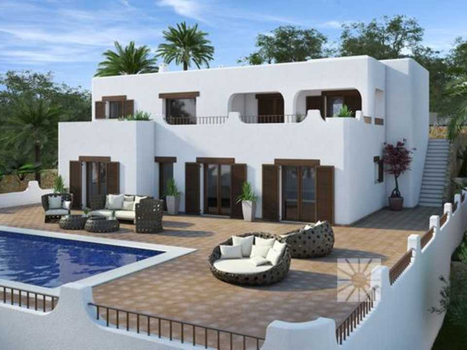 <h1> Villa model PANAREA, villas for sale in Cumbre del Sol Costa Blanca.</h1>