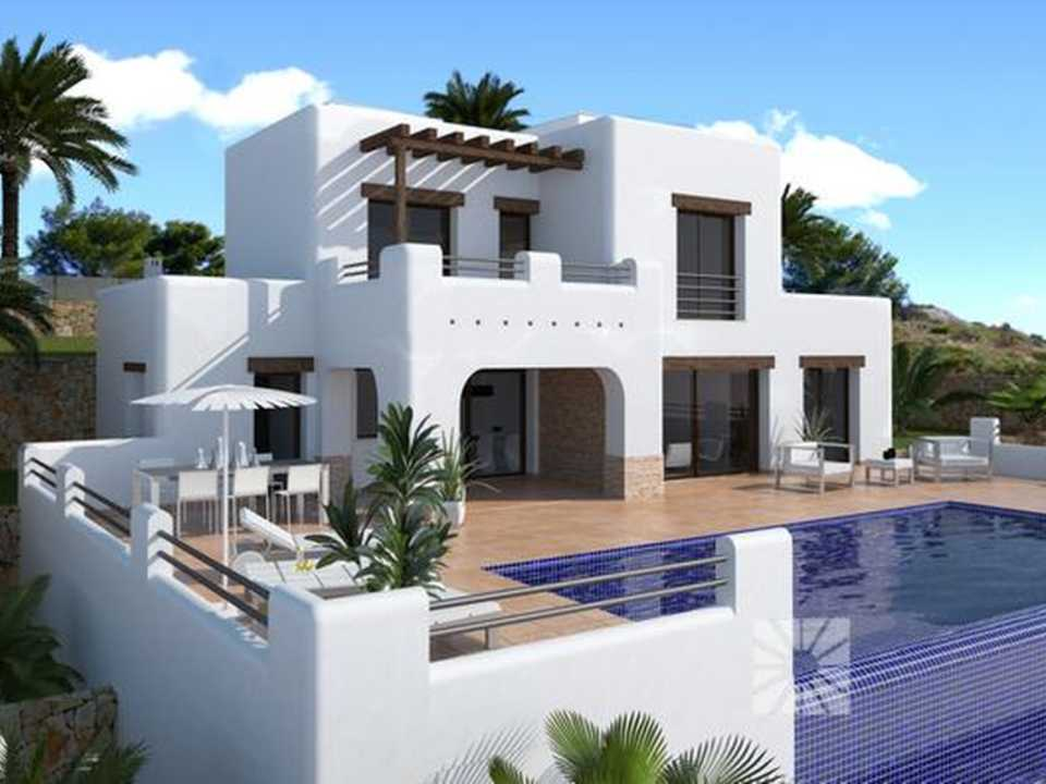 <h1> Villa model VENECIA, villas for sale in Cumbre del Sol Costa Blanca.</h1>