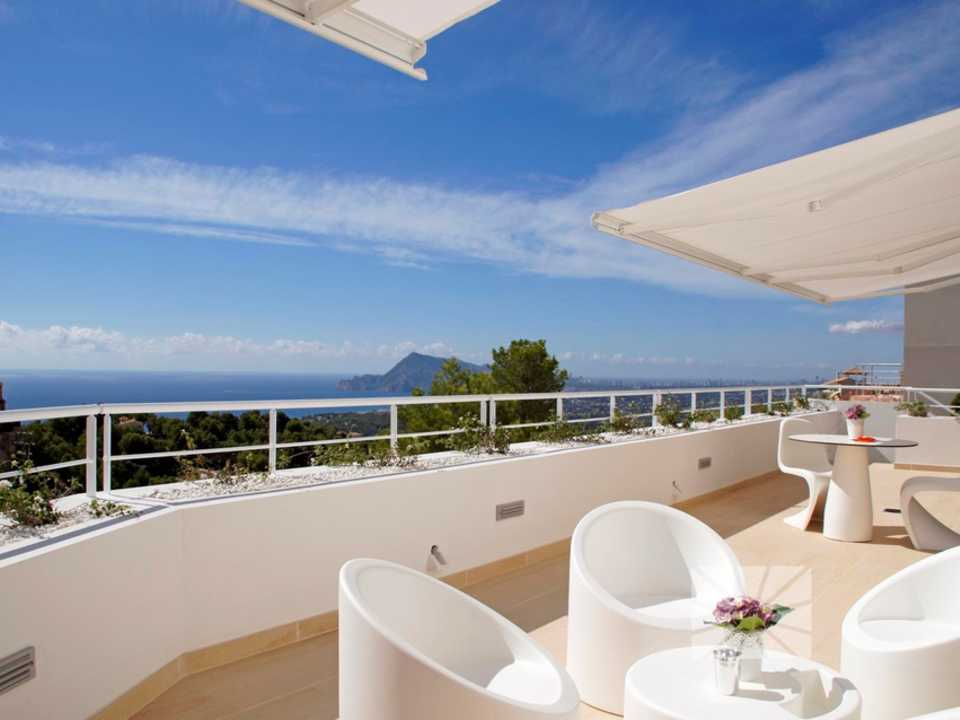 Marketing Exterior View from Altea H2 Altea Golden AZURE ALTEA HOMES Altea
