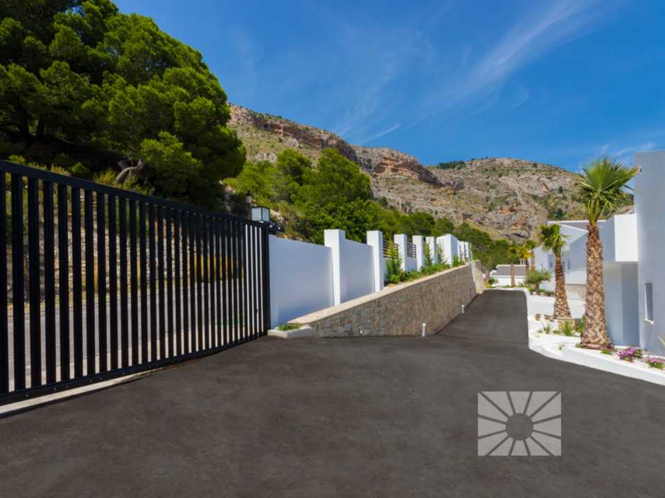 Marketing Exterior View towards Altea H2 Altea Golden AZURE ALTEA HOMES Altea