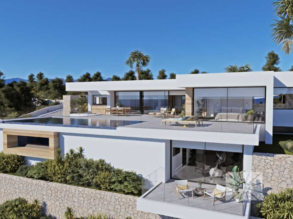 Marketing Exterior View from Benissa Luxury