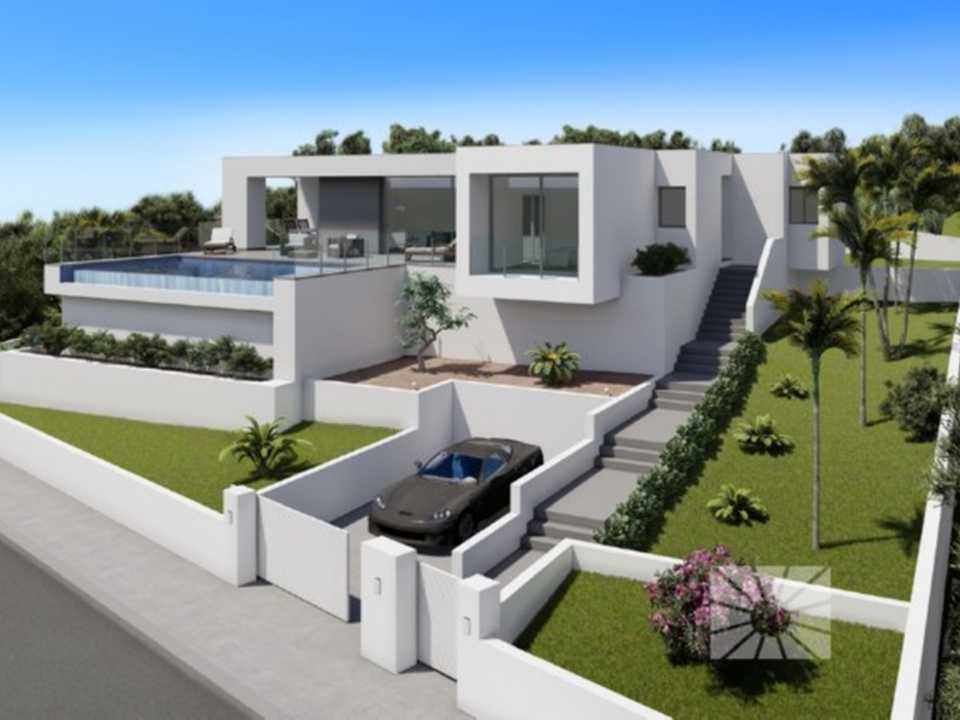 Lirios Design Cumbre del Sol modern villa for sale ref: AL104  model Hydra