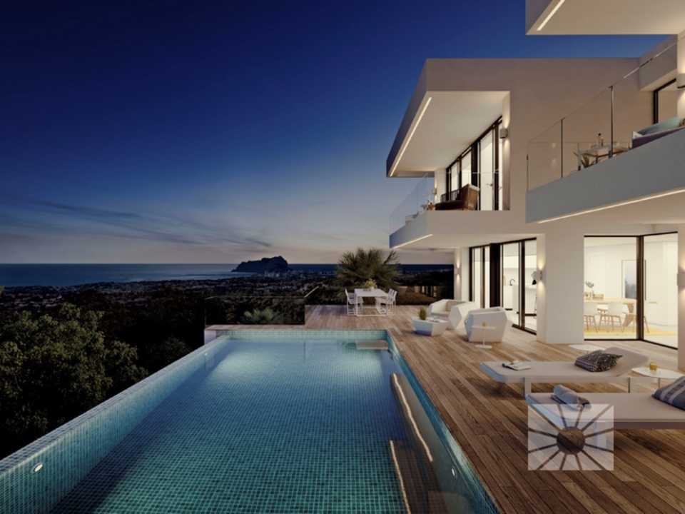 Marketing Exterior Contemporáneo SUPERIOR PE034 Villa LA PERLA