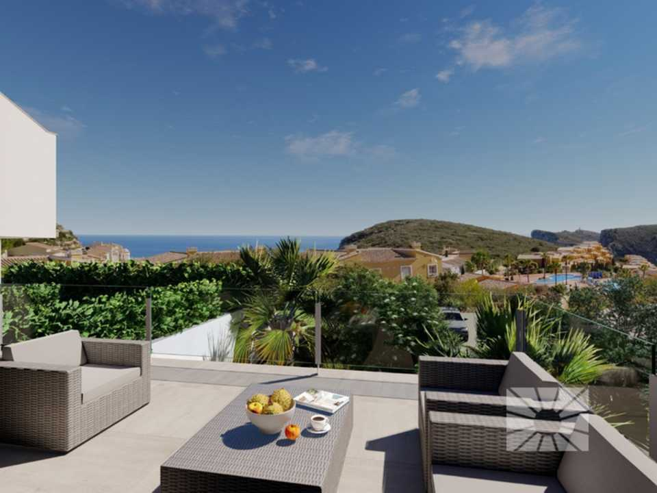 Montecala Gardens Cumbre del Sol modern new built apartments for sale in Benitachell ref PG021