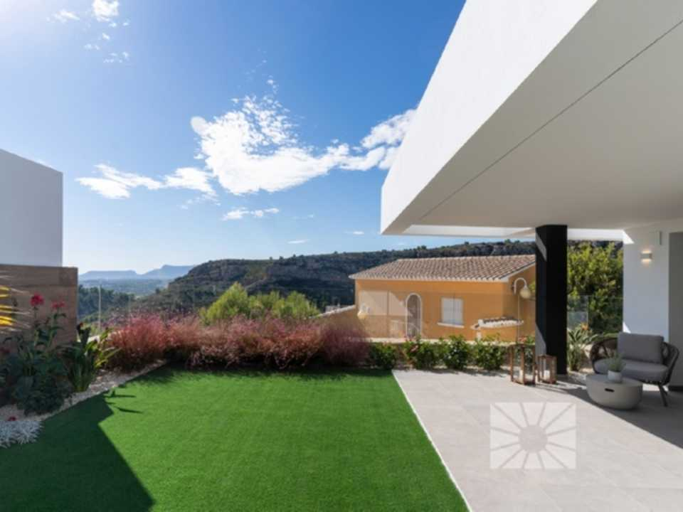 Montecala Gardens Cumbre del Sol modern new built apartments for sale in Benitachell ref: ph003