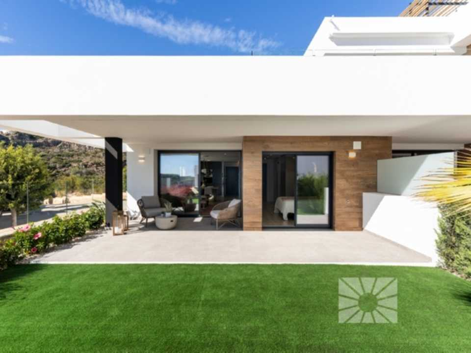 Montecala Gardens Cumbre del Sol modern new built apartments for sale in Benitachell ref: PH004