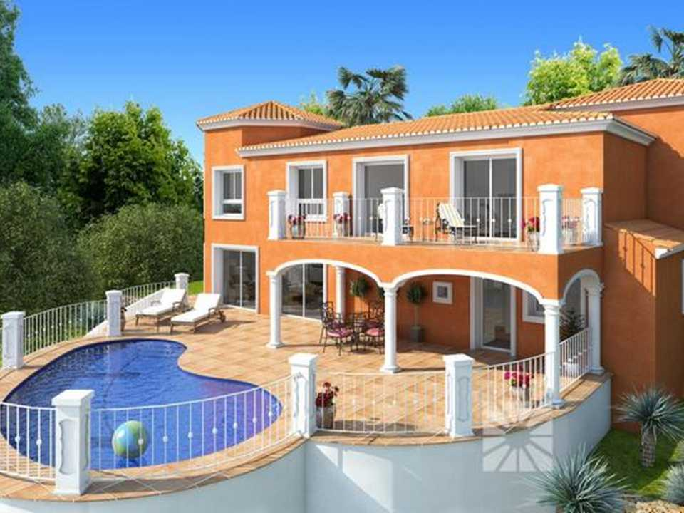 <h1> Villa model BERLIN, villas for sale in Cumbre del Sol Costa Blanca.</h1>