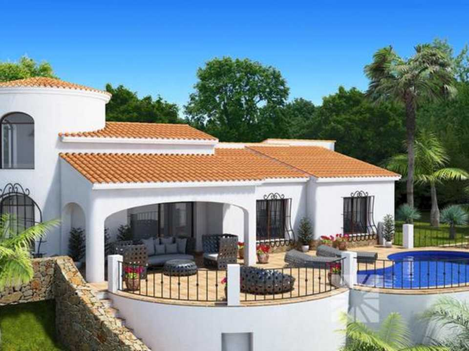 <h1> Villa model LISBOA, villas for sale in Cumbre del Sol Costa Blanca.</h1>
