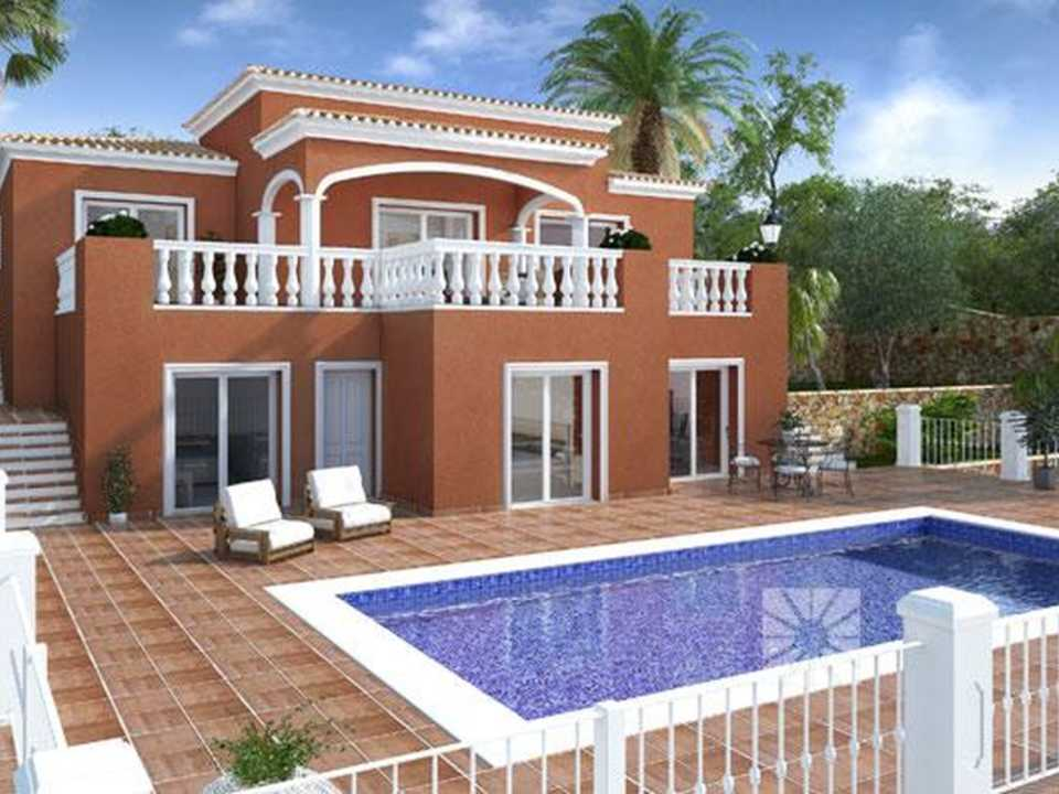 <h1> Villa model MOLARA, villas for sale in Cumbre del Sol Costa Blanca.</h1>