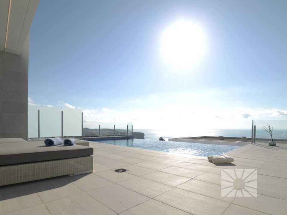 Marketing Exterior View from Benitachell Cumbre del Sol LILIES AL04 LILIES RESIDENTIAL DESIGN
