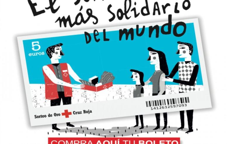 与西班牙红十字会合作开展年度抽签活动。