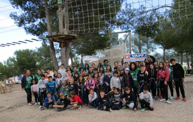 Samenwerking Grupo VAPF met de Vereniging van Ouders van Kinderen met Kanker Valencia - ASPANION